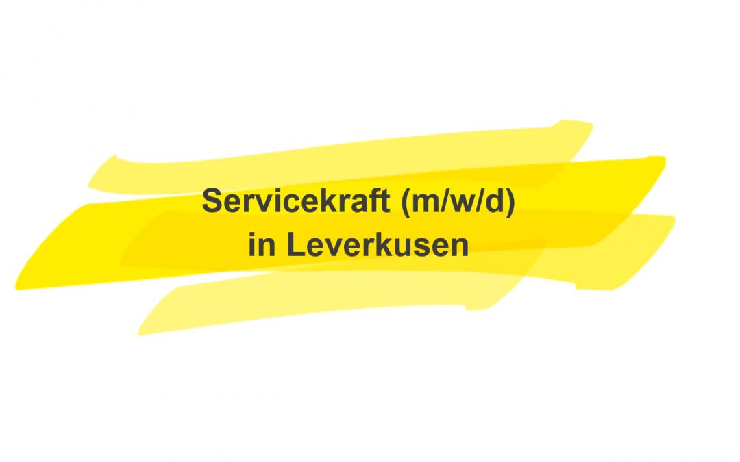 Servicekraft (m/w/d)